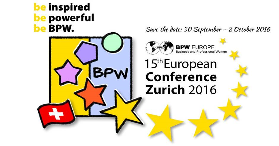 BPW 15th European Congress - Zurich 2016