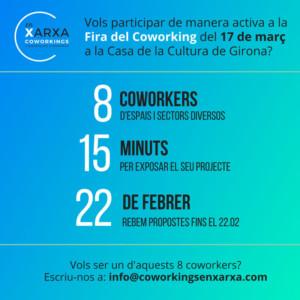 Fira del Coworking @ Casa de la Cultura